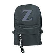 Рюкзак міський чорний Z унісекс