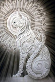 Алмазна вишивка, мозаїка Чарівний діамант Нефертіті КДІ-1097 60х40 см 13цв Квадратні стрази повна зашивання