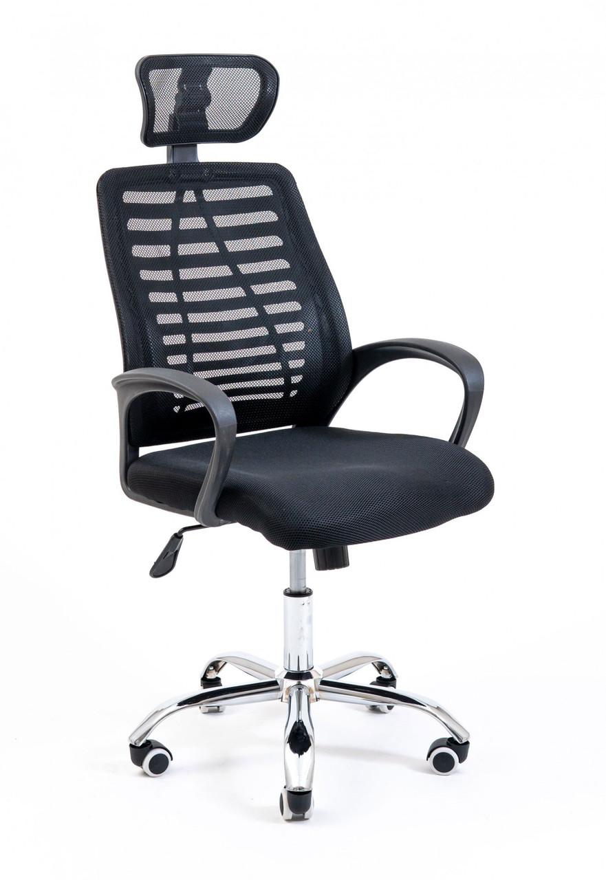 Офисное Кресло Руководителя Бласт Сетка Черное