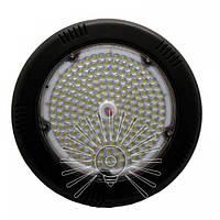 LED Світильник IP44 100W 9000LM 6500K чорний D=296 Lemanso