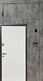 Металлические входные двери Редфорт(Redfort) Крафт винорит на улицу, 3 контура уплотнения