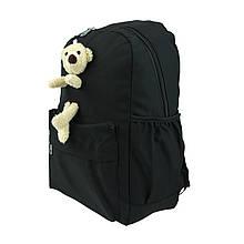 Рюкзак жіночий міський Мишка чорний