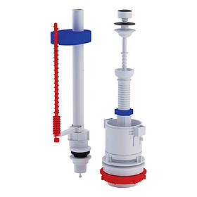 Зливний/наливний механізм для унітазу ANI Plast WC4550M
