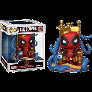 Фігурка Funko Pop Король Дэдпул King Deadpool 15см FP KD 724