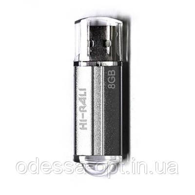 Накопичувач USB 8GB Hi-Rali Corsair серія срібло