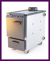 Твердотопливный котел Буржуй КП-10 кВт 4мм+ бесплатная доставка, фото 1
