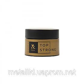 Топ для гель-лака с липким слоем F.O.X. Top Strong, 30 мл