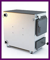Твердопаливний котел Буржуй 20 кВт 4мм+ безкоштовна доставка