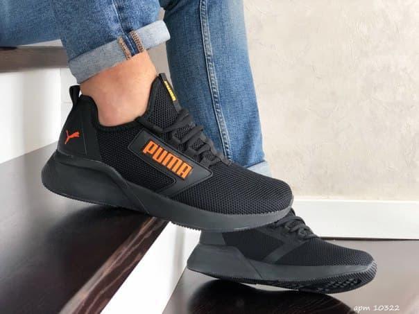 Туфлі чоловічі кросівки Puma сітка (7 кольорів)