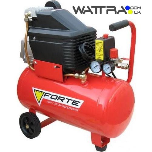 Компрессор FL-24 - 8 атм. 1,5 кВт, вход: 203 л.мин, ресивер 24 л. FORT