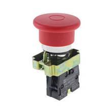 """Кнопка управління XB2-ВТ42 натискна з фіксацією XB2-ВТ42 червона """"Стоп"""""""