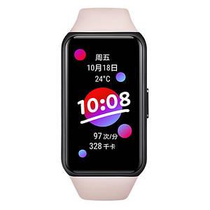 Фитнес-браслет Huawei Honor Band 6 с цветным 1.47 дюймовым AMOLED экраном (Розовый)