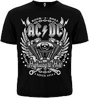 ФУТБОЛКА AC/DC (SINCE 1973) BLACK