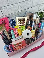 Огромный подарочный набор декоративной косметики в подарок девушке