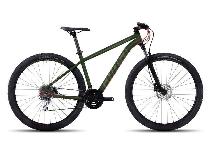 """Велосипед Ghost 29"""" Kato2 2017 рама S зеленый 17TA4123"""