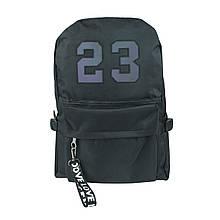 Рюкзак міський чорний 23 унісекс