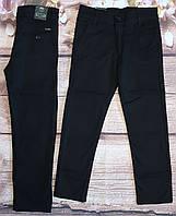 Шкільні коттонові штани TATI для хлопчиків 10-13 років (чорні) гурт вир. Туреччина
