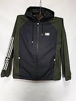 """Куртка чоловіча демісезонна без синтепону ADIDAS, р-ри 48-56 (4кол) """"RETRO"""" недорого від прямого постачальника"""