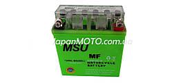 Аккумулятор 5A 12V (12N5L-BS) MSU гелевый - высокий 120x60x130