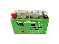 Аккумулятор 7A 12V (YTX7A-BS) MSU гелевый 150x85x95