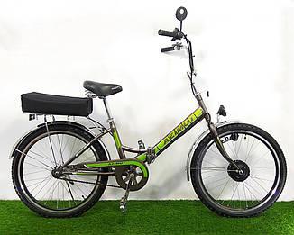 """Електровелосипед складаний Azimut 24"""" lead-acid 24V/350W (пробіг 30-35км)"""