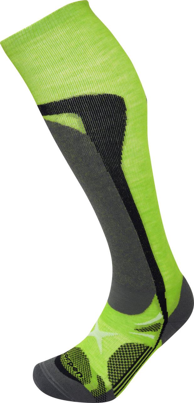 Шкарпетки Lorpen T3 Ski Mountaineering S3SM Green Lime S (6210057 5448 S)