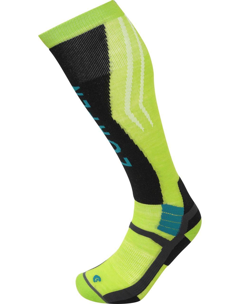 Шкарпетки Lorpen T3 Ski Mountaineering S3SMG Green Lime S (6210187 5448 S)