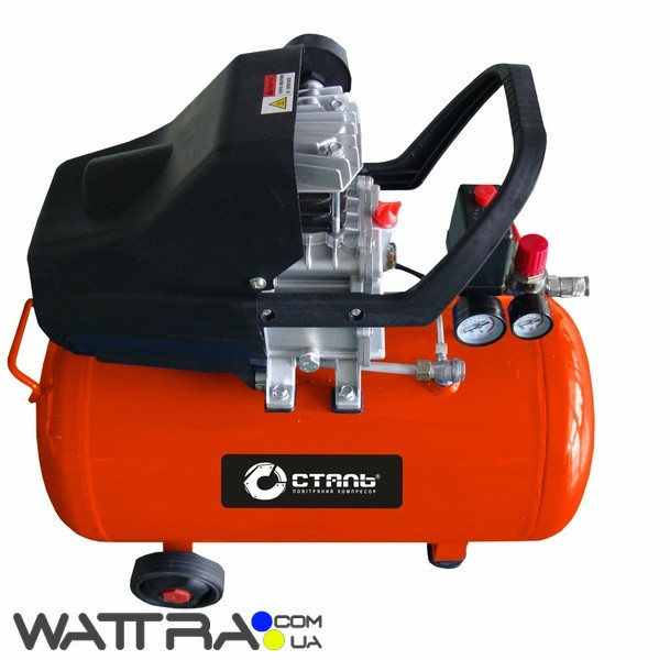 Компрессор КСТ-50 - 8 атм. 1,5 кВт, вход: 190 л/мин, ресивер 50 л. ТМ