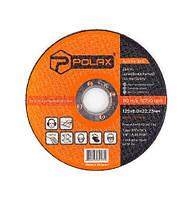 Круг шлифовальный по металлу, 125х6,0х22,2 Polax