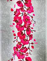 Вафельне полотно Орхідея 50 см, фото 1