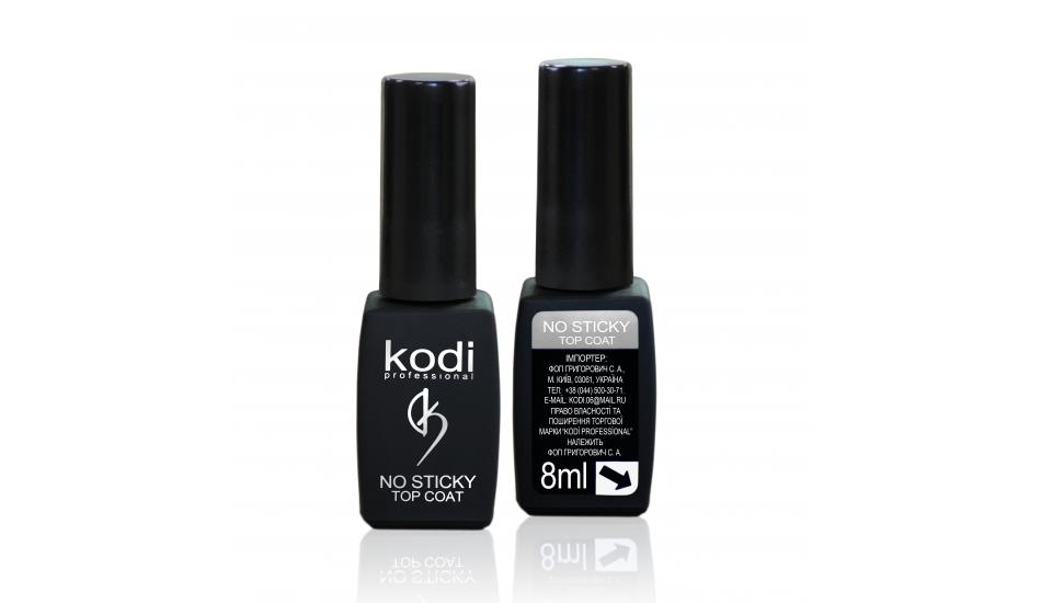 Kodi No Sticky Top Coat верхнее покрытие для гель-лака без липкого слоя 8мл