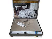 Комплект постельного белья Maison D'or Pulume Volante Beige сатин 220-200 см бежевый