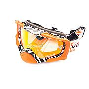 Очки кроссовые VEMAR MJ-1018 (оранжевые, стекло темное)