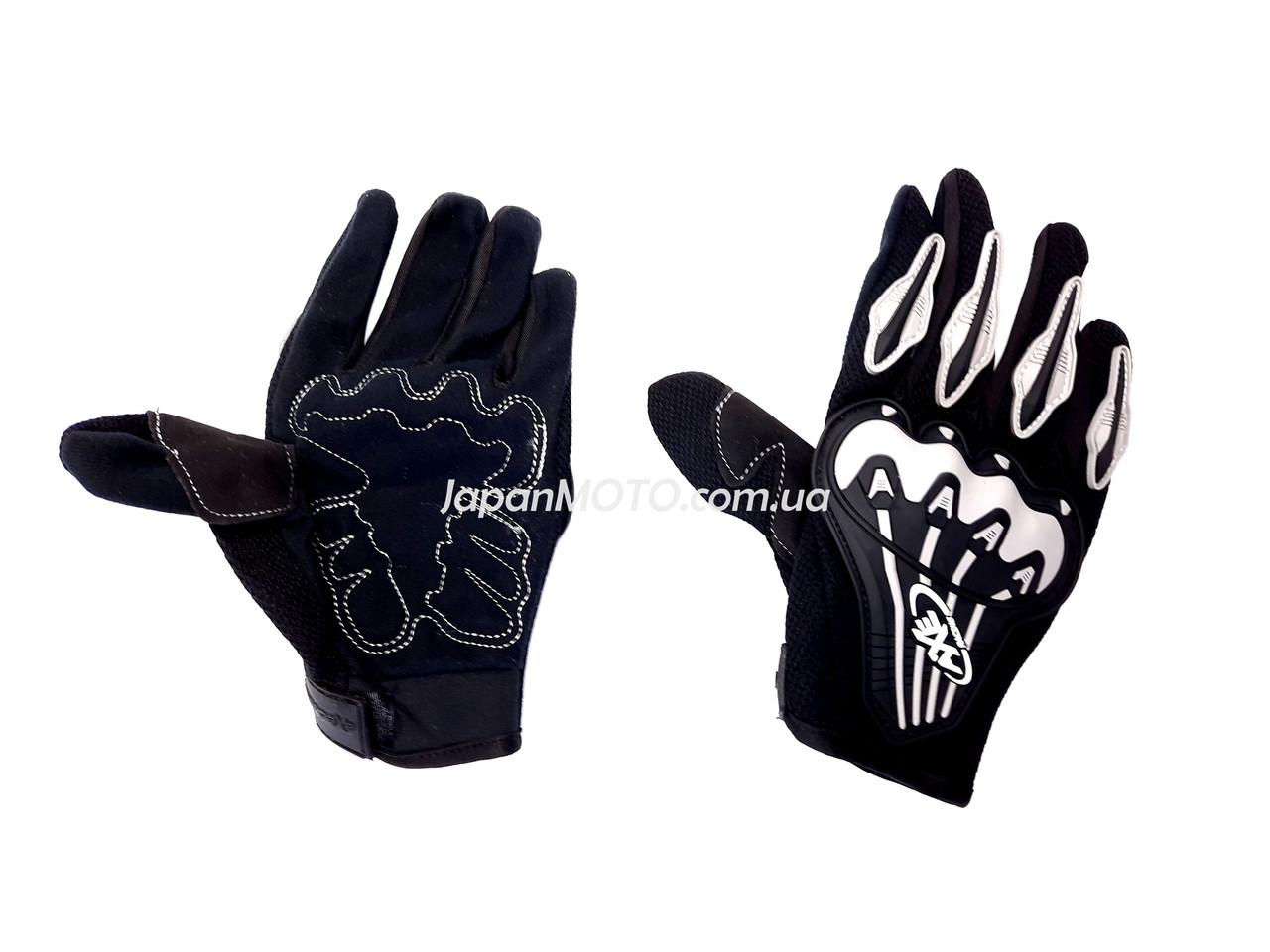 Перчатки AXE RACING ST-07 (size: L, серые)