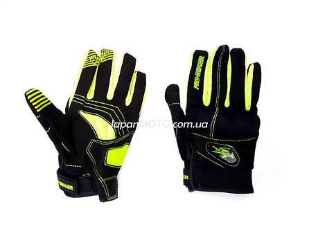 Перчатки PRO BIKER MCS-48 (size: XL, зеленые), фото 2