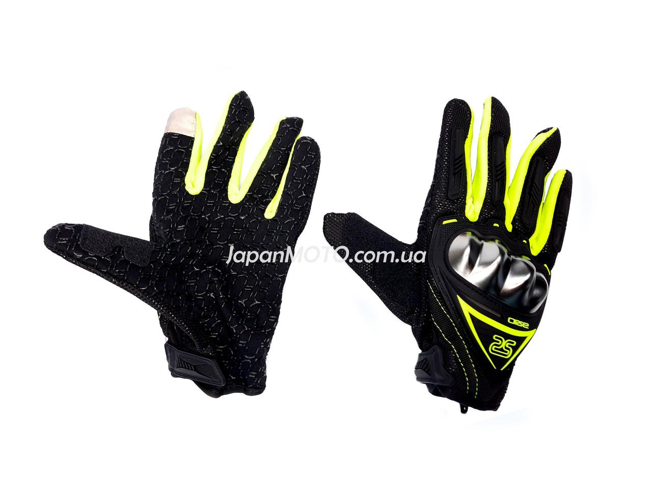 Перчатки AXIO AX-01 сенсорный палец (size: XL, зеленые)