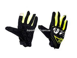 Перчатки AXIO AX-01 сенсорный палец (size: XL, зеленые), фото 2
