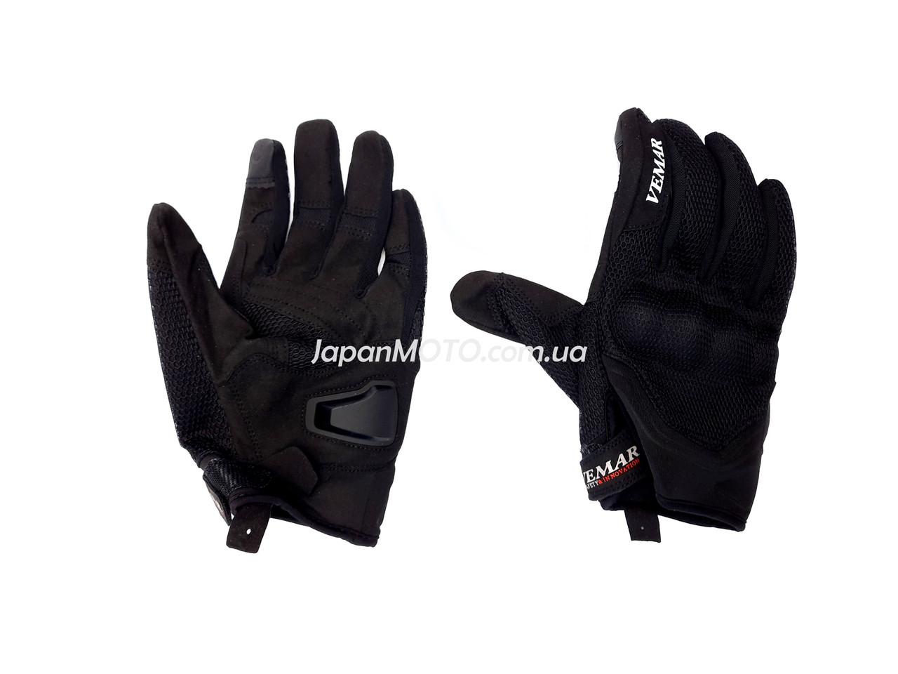 Перчатки VEMAR VE-173 сенсорный палец (size: L, черные)