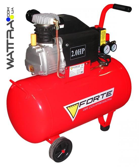 ⭐ Компрессор поршневой FORTE FL-50 - 8 атм. 1,5 кВт, вход: 203 л/мин,