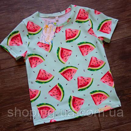 Дитяча футболка кавунчик на м'яті Five Stars KD0458-98р, фото 2