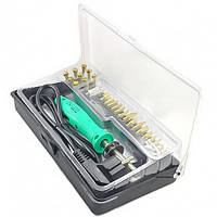 ZD-972G набор для выжигания, паяльник, 26 наконечников, евро вилка, Zhongdi