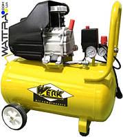 Компрессор поршневой WERK BM-2T50N  - 8 атм. 1,5 кВт, вход: 200 л/мин, ресивер 50 л.