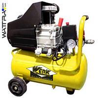 ⭐ Компрессор поршневой WERK BM-2Т24N - 8 атм. 1,5 кВт, вход: 200 л/мин, ресивер 24 л.