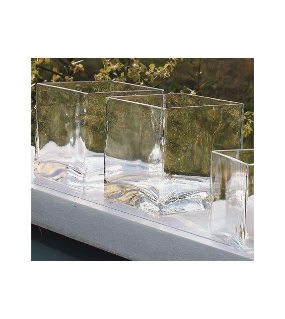 Ваза скляна Adriani Rossi Vaso 10x10x10 см Прозора (34571)