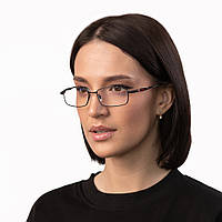 Очки компьютерные IQ Vision Т-1000 женские в прочной и стильной оправе чёрные (2021)