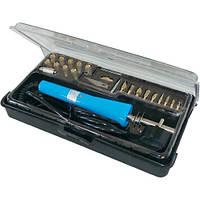 ZD-972A набор для выжигания, паяльник, 19 наконечников, евро вилка, Zhongdi
