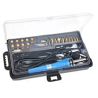 ZD-972A набор для выжигания, паяльник, 19 наконечников Zhongdi