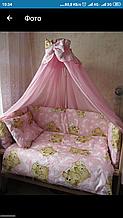 Постільні набори в ліжечко