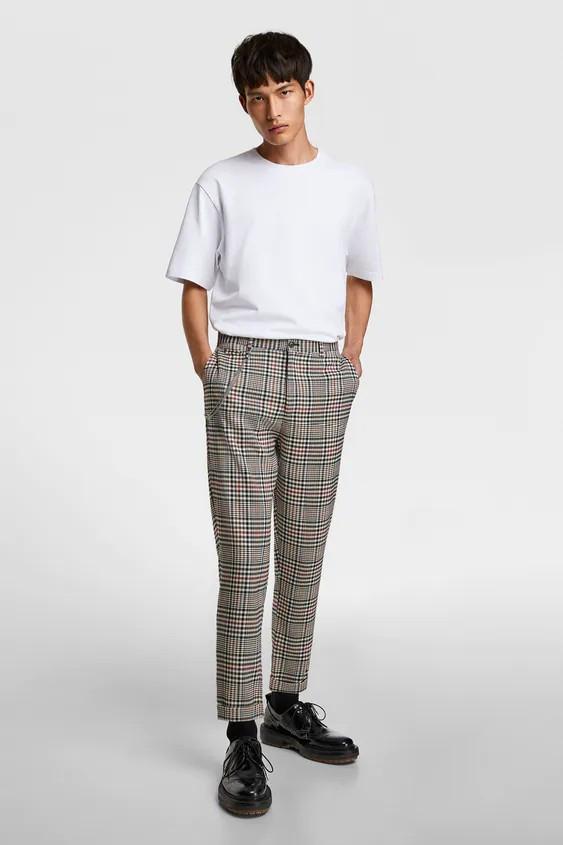 Брюки мужские Zara разноцветные (8288 420 330)
