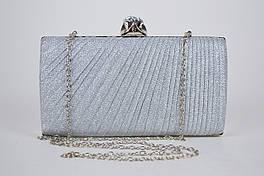 Клатч женский Серебристый 21570